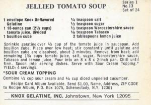 Jellie Tomato Soup